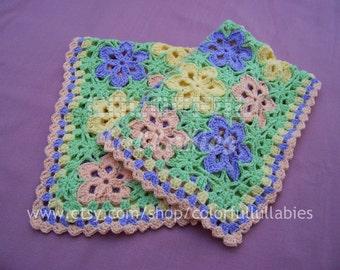Crochet baby blanket Pattern. Flower crochet blanket. Crochet flower pattern. Crochet hexagon flower blanket. WONDER.