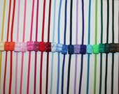 Choose 3 -  Skinny 1/8 Inch Elastic Headbands - Interchangeable - Great Alone or With a Hair Bow - LOTS of COLORS - Super Speedy Shipping