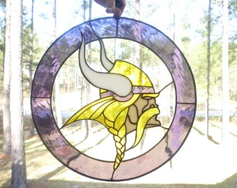 CUSTOM SPORTS LOGOS lN stained glass