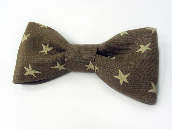 Men Kids Clip-On Bow Tie - bown stars bowtie - Baby, toddler boys tie