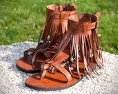Leather sandals WOODSTOCK