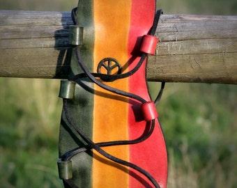 Rasta Hippie Leather Sandals
