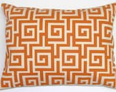CLEARANCE SALE.Pillow.12x16 inch Decorator Lumbar Pillow Cover.Free Shipping