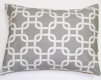 GRAY PILLOW.16x20, 16x24 or 12x20 inch.Pillow Cover.Decorative Pillows.Housewares.Gray Pillows.Gray Cushion.Gray Lumbar Pillow.cm.Home Decor
