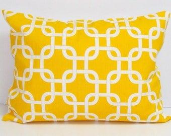 SALE YELLOW PILLOW Sale.12X16 or 12x18 inch.Pillow.Lumbar Pillow Cover.Decorative Pillows.Housewares.Yellow Pillow.Yellow Cushion.Yellow Lum