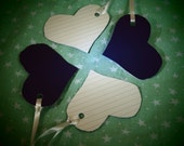 Purple Heart Gift Tags - Set of 4
