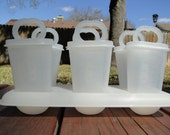 Vintage Tupperware Popsicle Molds / Ice Tups - Mold No. 481-23, 344-18, 343-44