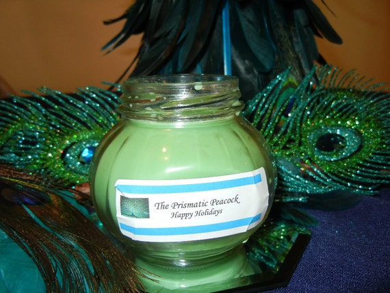 All Natural Soy Container Candle (6 oz.) - Happy Holidays
