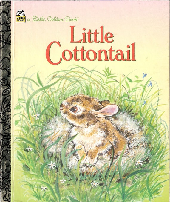 Vintage Little Cottontail by Carl Memling Little Golden Book