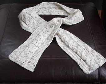 Light Hand Knit Scarf
