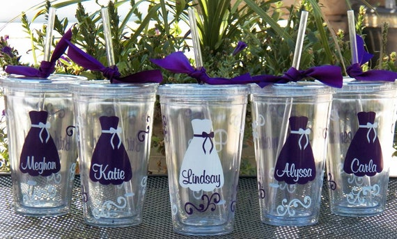 Maid Of Honor Gifts From Bride: 8 Personalized Bride Bridesmaid Junior By Alishasdesigns