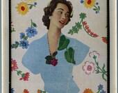 Flower girl in frame