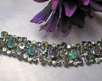 D&E aka Juliana Lilac AB Bracelet   Item No: 15501