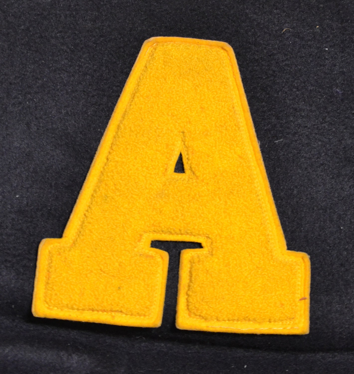 Vintage Varsity Letter 'A' Patch High by AdeleBeeAnnPatterns
