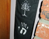 Custom Design (One Color) 3 Pocket Hanging Organizer with Embroidered Pockets