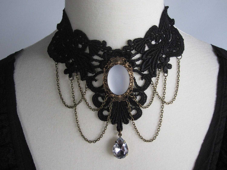 Sale now it s 35 usd was 45 lace choker necklace by ravennixe