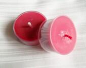 Tea light Sampler - 2 Scented Soy Tea lights - Choose Scent