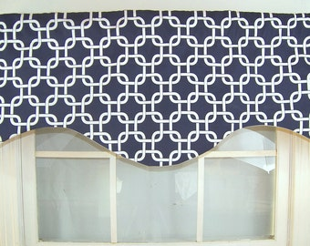 Entwined Shaped Valance
