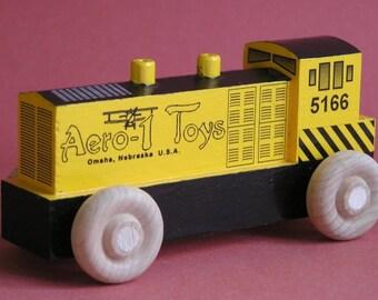 Wooden Toy Diesel Locomotive