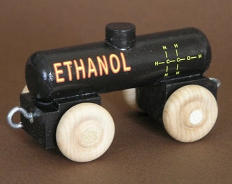 Wooden Toy Train Ethanol Car