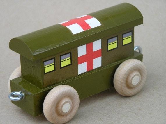 Wooden World War II Army Hospital Car
