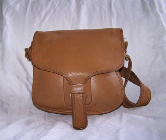 Authentic Coach Original Bonnie Cashin Saddlebag Purse Shoulderbag 1970s & Bonus