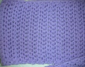 Monica Pastel Purple Scarf
