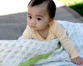 Baby Quilts/ Play blankets- Fern Fiesta
