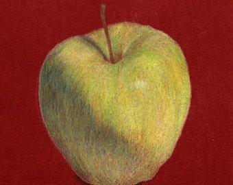 Granny Smith Apple print