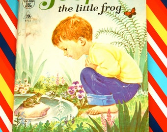 Vintage Jeepers the little frog children's book