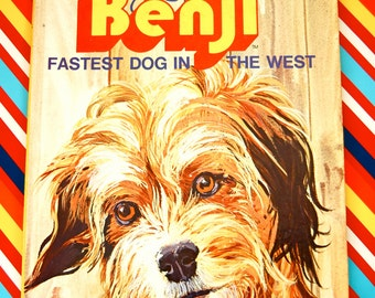 Vintage Children's Benji Golden Book