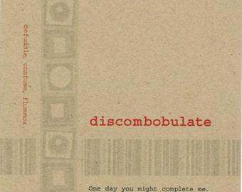 Discombobulate card, Let's Go Out, Lexicon Line No. 7901