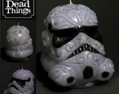 Deathtrooper Calavera Candle