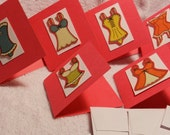 RESERVED for LYed-Lingerie Mini Cards-Set of 12
