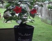 Galvanized Backyard Teacher Vase