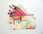 Washi Tape Pencil Case