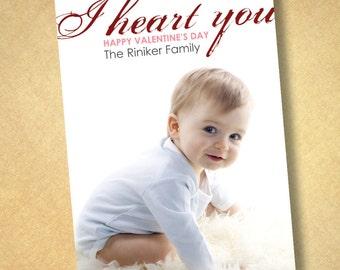 photo valentine cards