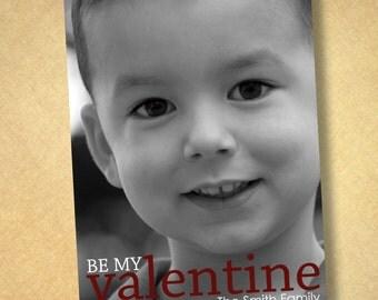 custom photo valentines