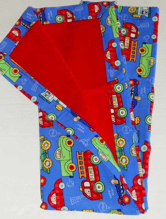 SALE:Play Vehichles Minky Baby to Toddler Blanket