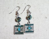 Art Deco and Crystal Earrings