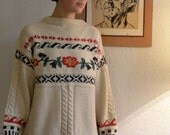 trachtiger beautiful wool sweater