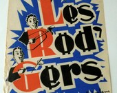 Vintage 1950's Musical Poster, in French, Les Rodgers
