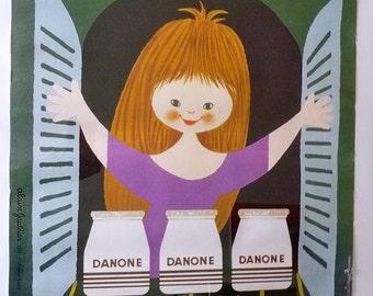 Dannon Vintage Poster