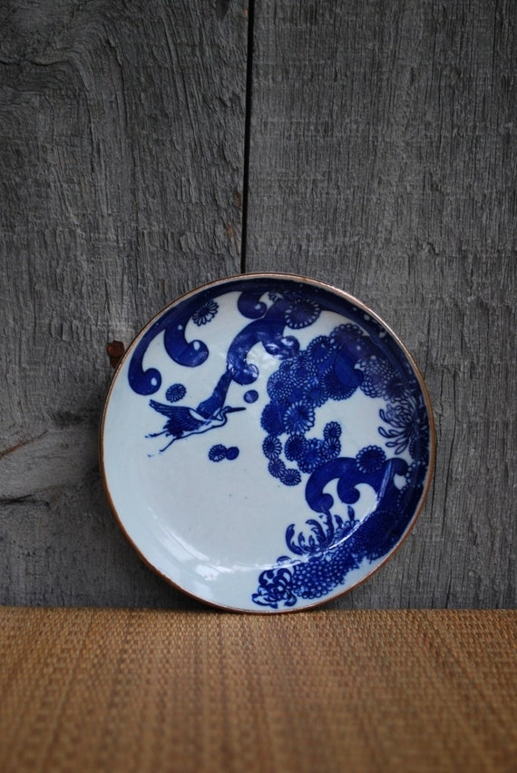 vintage Japanese plate