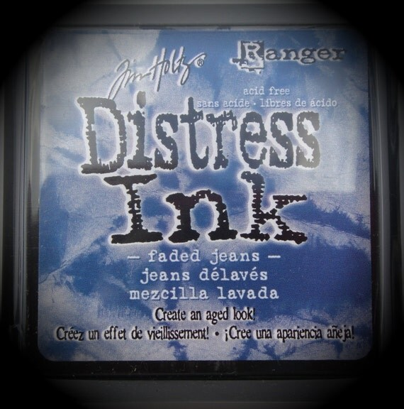 Ranger Ink - Tim Holtz Distress Stamp Ink Pad - Faded Jeans
