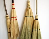 RESERVE for MOLLY- Handmade Kitchen Broom- Southern Appalachian Style