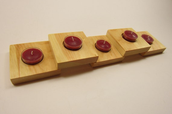 Handcrafted candle holder