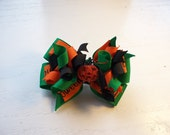 Halloween Bow - Pumpkin Boutique Hair Bow Happy Halloween New