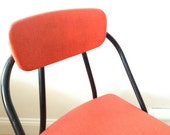 Red Cosco Folding Chair - Mid Century