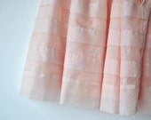 RESERVED vintage pale pink girls dress - dotted swiss - size toddler 2-3